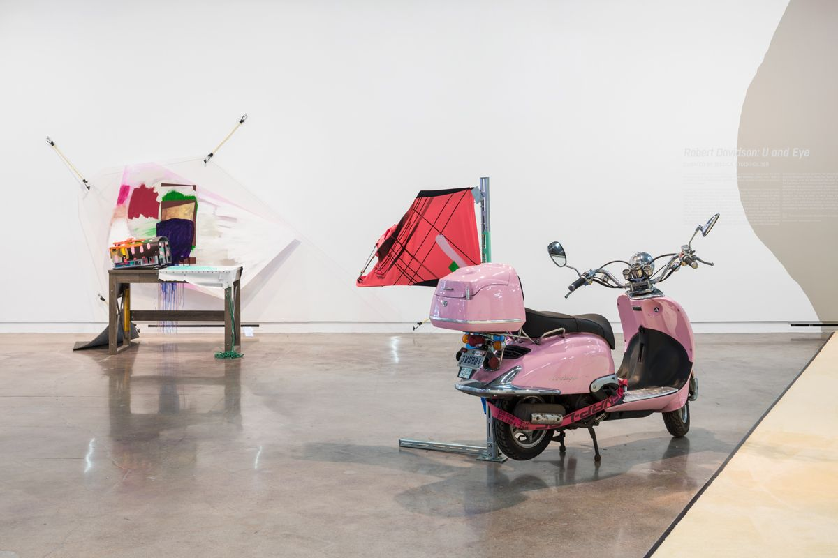 JESSICA STOCKHOLDER Installation view of Relational Aesthetics at The Contemporary Austin – Jones Center on Congress Avenue, Austin, 2018
