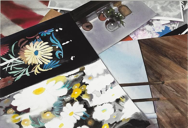 MAMIE TINKLER Still Life with Photographs