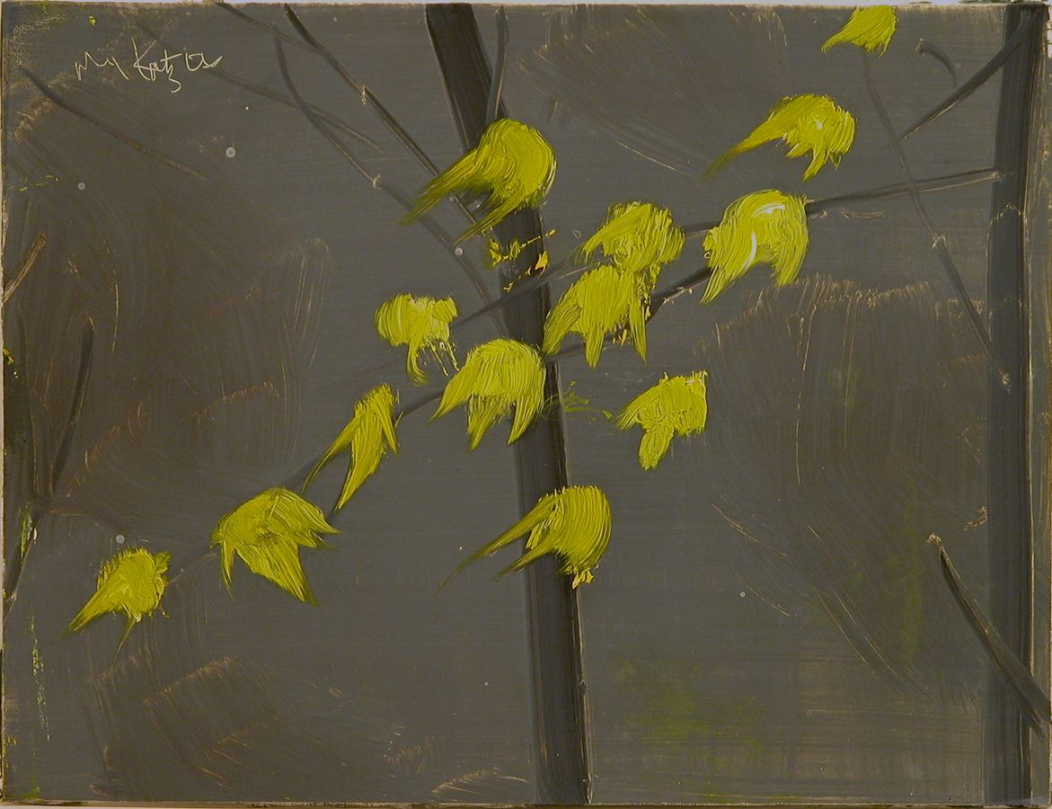 ALEX KATZ Yellow Leaves #3