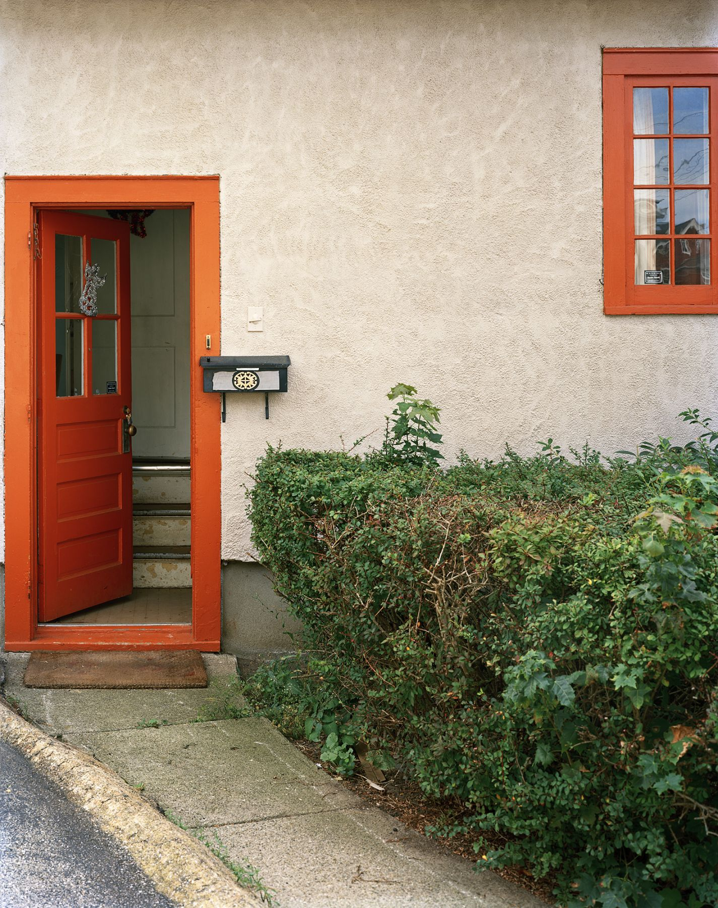 Orange and Green, Entrance   Archival Pigment Print  Eiditions of 5  25x20 inches  20x16 inches