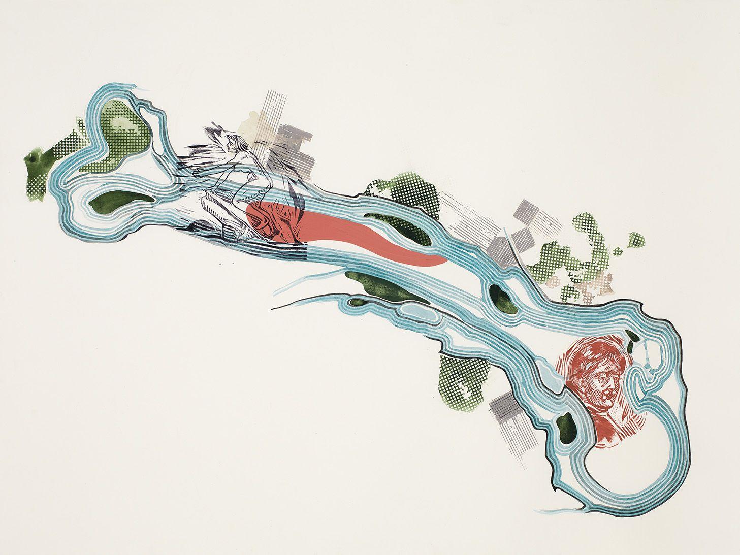 Emotional Cartography: Femur