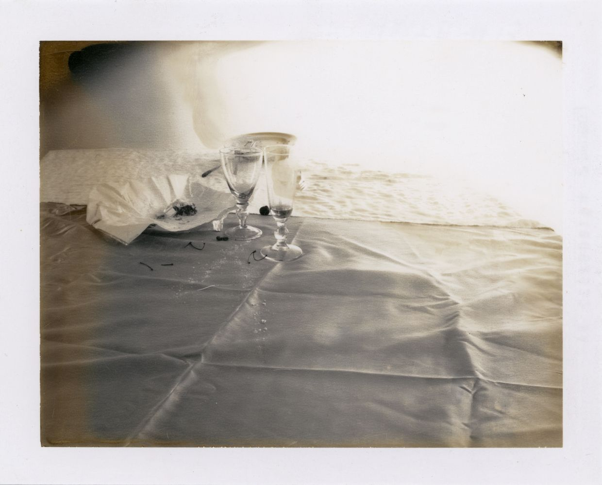 Laura Letinsky,  Untitled, from the series Time's Assignation, 2002,  Polaroid,  3 1/2h x 4 1/2w in, Unique, Photograpy