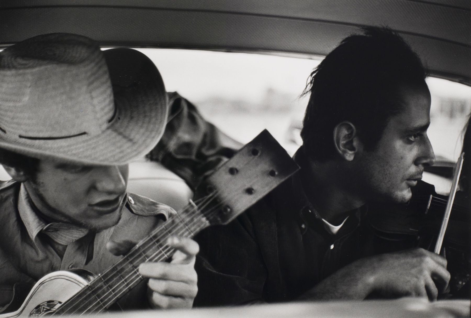 """Bernard Plossu (1945-)  Mexico """"On the Road"""", 1966  Gelatin silver print  10 x 14 inches (paper), black and white photography"""