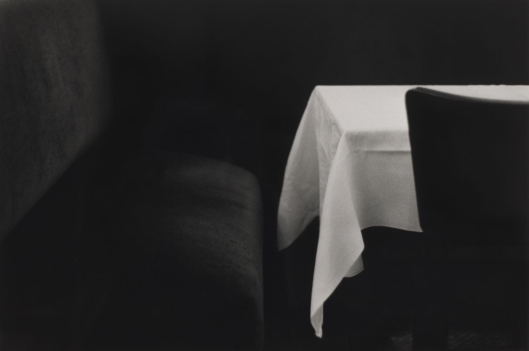 Bernard Plossu (1945-)  Paris, 1973  Gelatin silver print  12 x 16 inches (paper), black and white photography