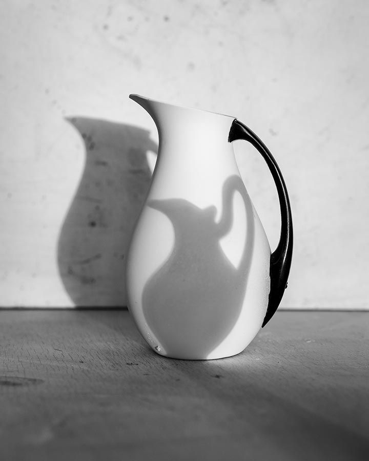 James Henkel  Shadow Pitcher, 2017  Archival Pigment Print  20h x 16w in 50.80h x 40.64w cm  JHe_003  Edition 2/5, Black and White Photography