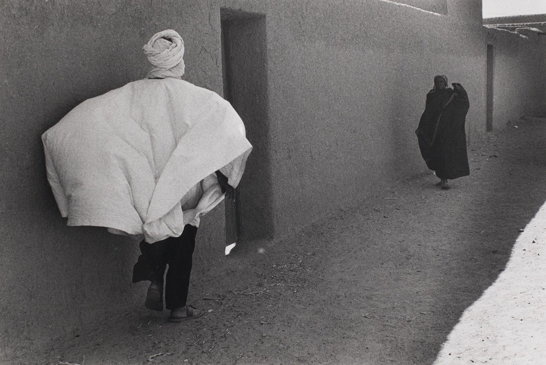 Bernard Plossu (1945-)  Acades, Niger, 1975  Gelatin silver print  12 x 16 inches (paper), black and white photography