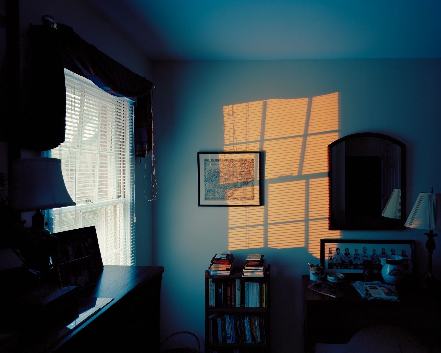 McNair Evans, Floodlight, 2009, Archival pigment print, 20 x 25 inches and 32 x 40 inches, Editions of 5. Photography.