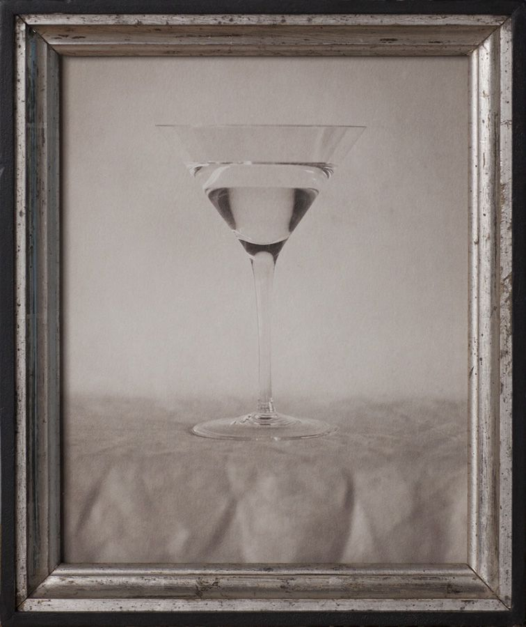 Jefferson Hayman, The New Martini, 2017, Archival Pigment Print in Vintage Silver Frame, 10h x 8w in, Edition of 12, Photography