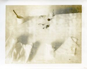 Laura Letinsky  Untitled, 2001, from the series Time's Assignations, 2001  Polaroid,   4 1/4h x 5 3/4w in, Unique, Photography
