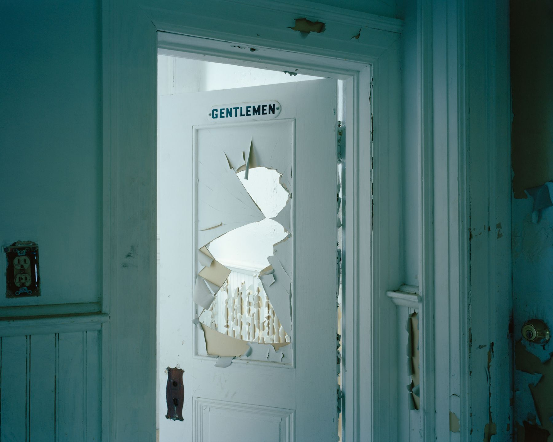 McNair Evans, Dad's Office '03, 2010, Archival pigment print. Photography.