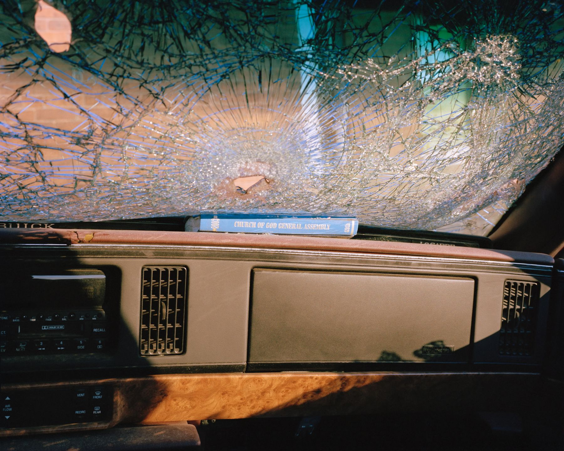 McNair Evans, Company Car, 2010, Archival pigment print, 20 x 25 inches and 32 x 40 inches, Editions of 5