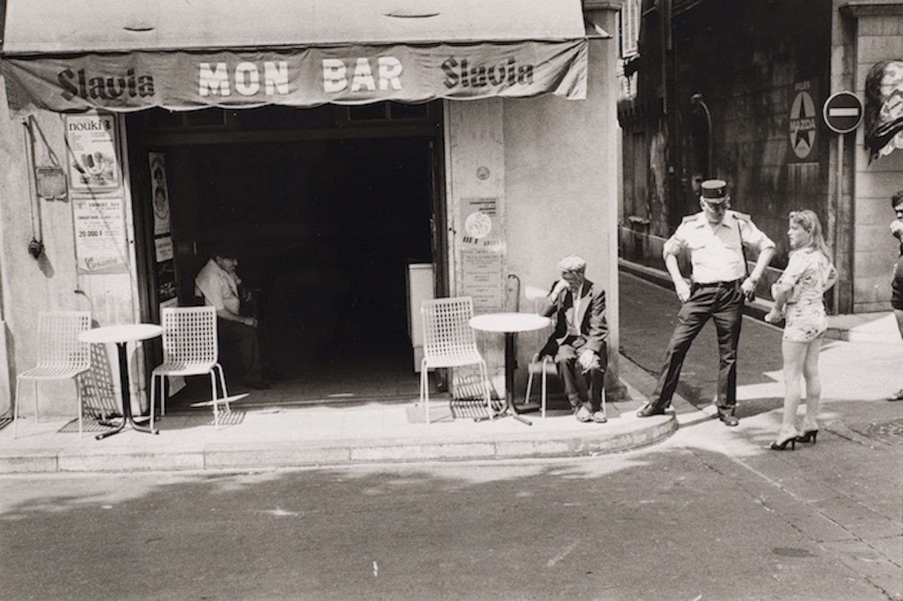 Philippe Salaun (1943-)  Arles, 1982  Gold toned gelatin silver print  12 x 16 inches (paper), black and white photography