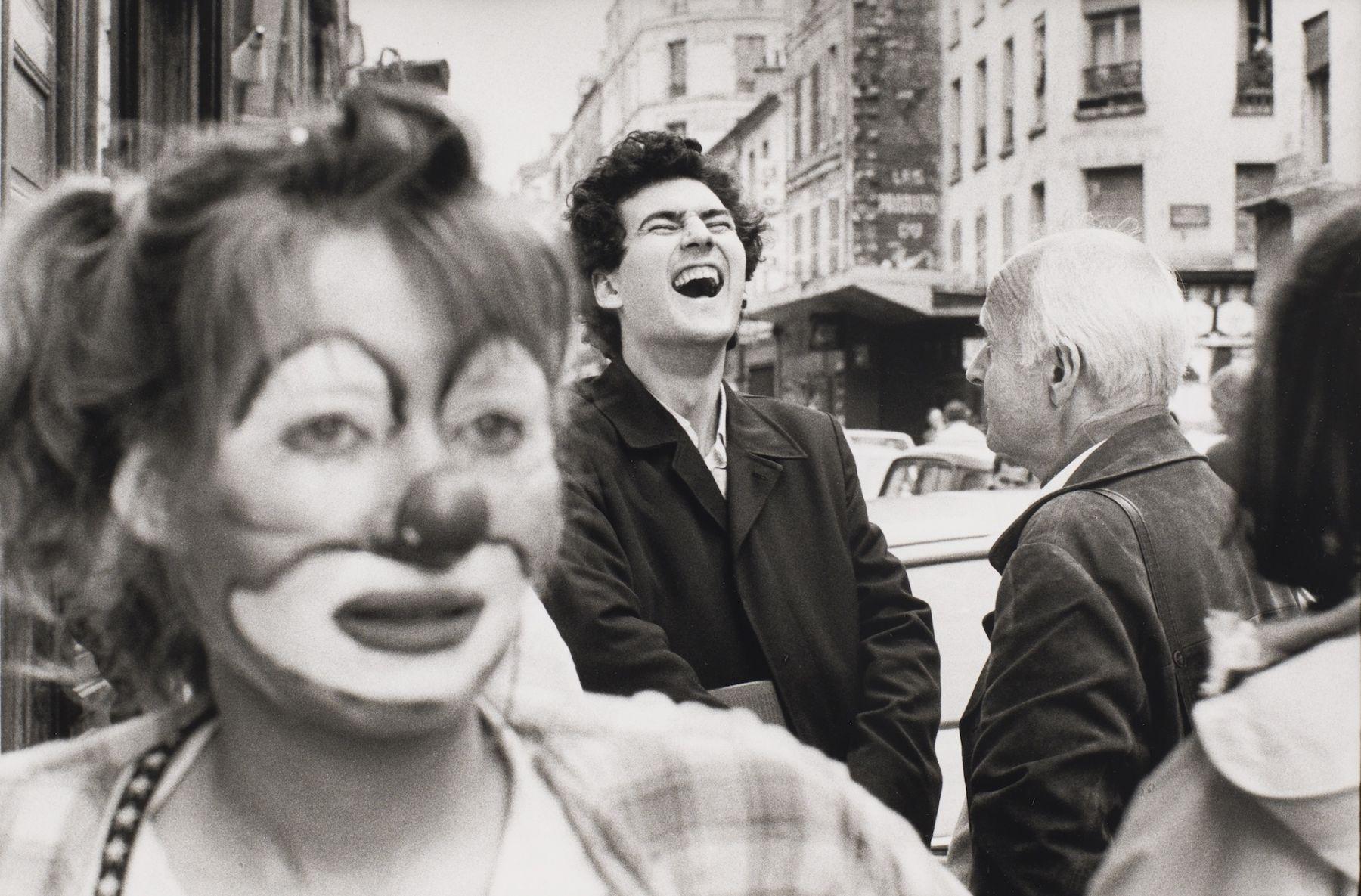 Philippe Salaun (1943-)  Jean Francois Chevrier et Henri Cartier Bresson, Paris, 1979  Gelatin silver print  12 x 16 inches (paper), black and white photography