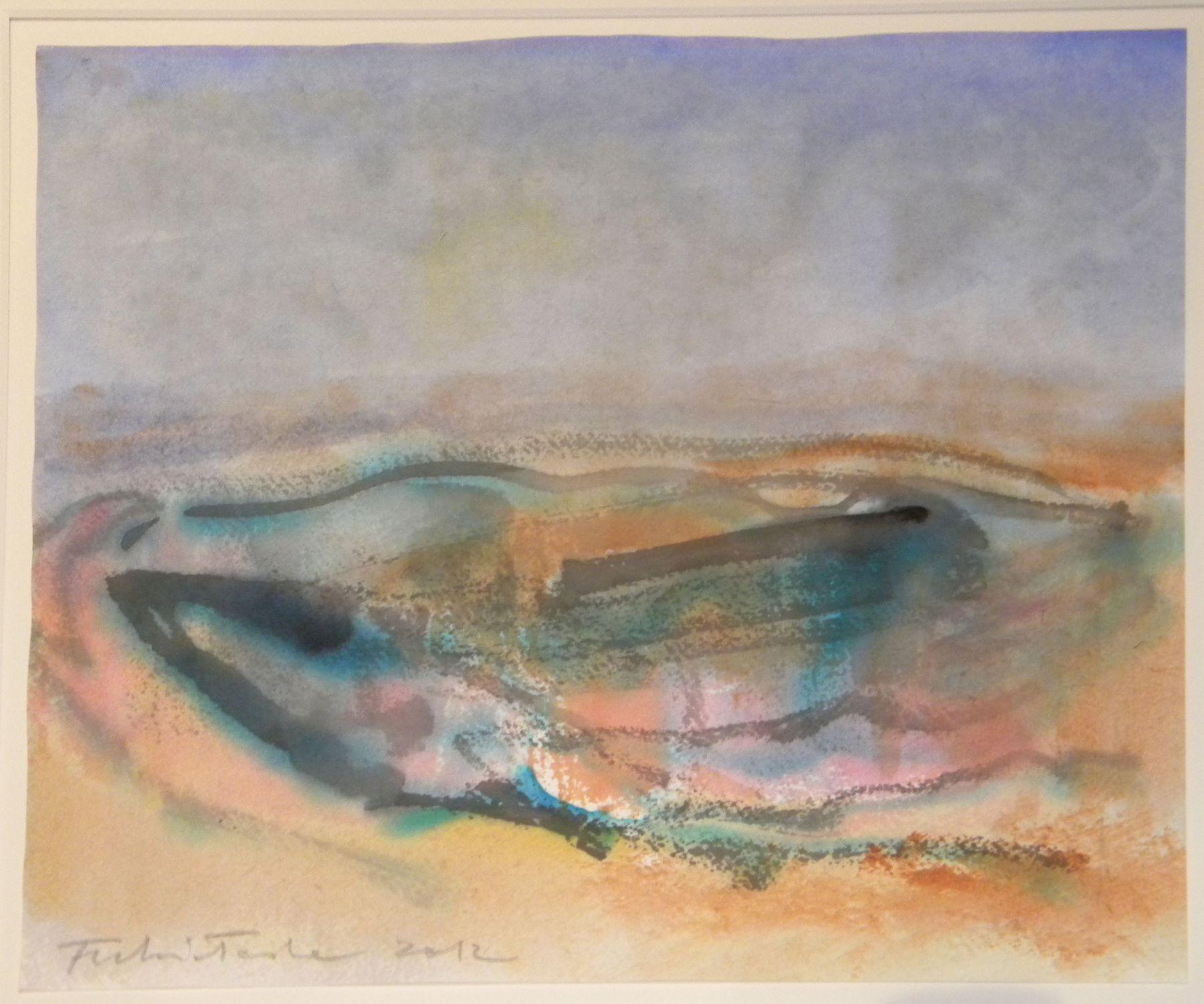 Fulvio Testa, Untitled 24, 2012    Watercolor on paper 9 3/4 x 11 3/4 inches