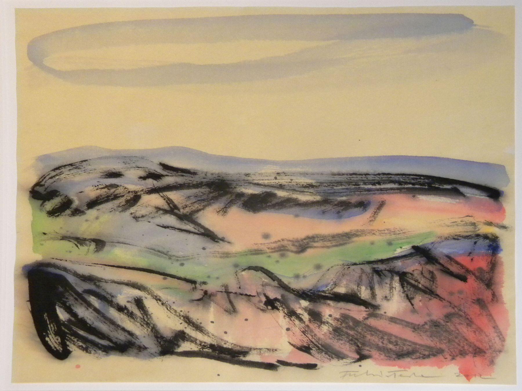 Fulvio Testa, Untitled 14, 2012    Watercolor on paper 13 1/4 x 15 1/8 inches