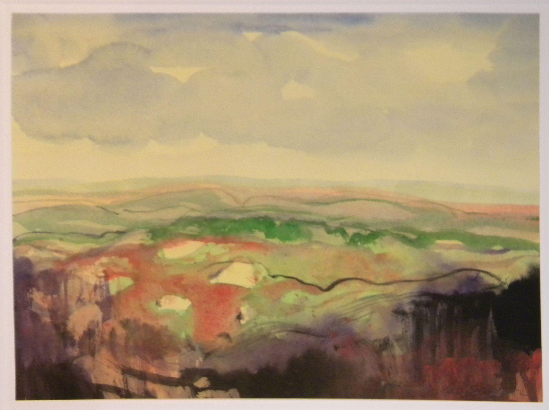 Fulvio Testa, Untitled 26, 2012    Watercolor on paper 9 5/8 x 13 1/4 inches