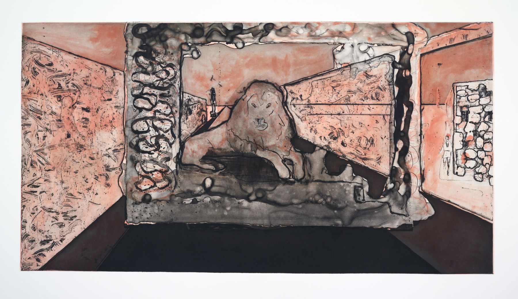 Peter Doig, Lion in the Road, 2016