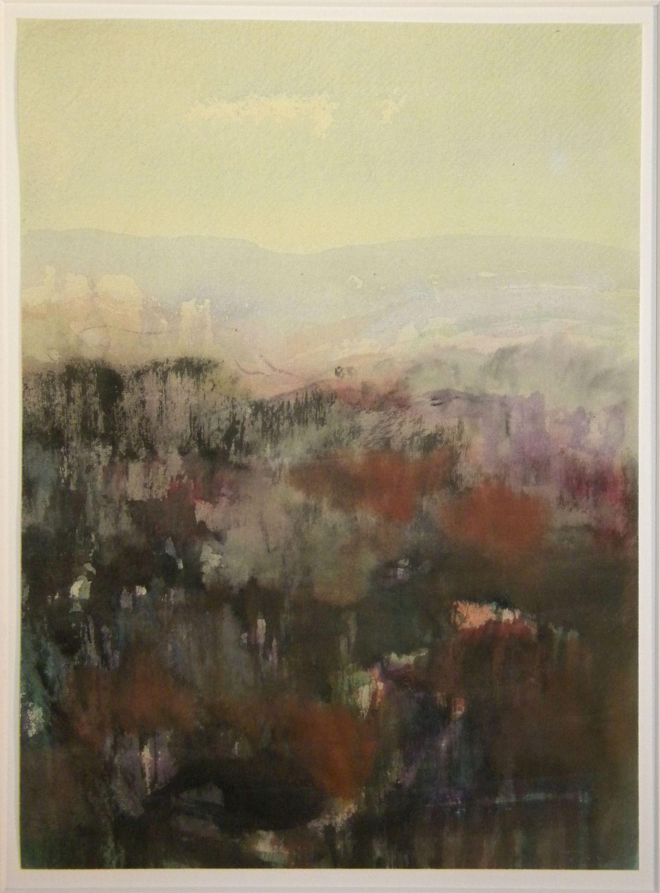 Fulvio Testa  Untitled, 2008  Watercolor on paper  13 1/2 x 9 1/4 inches (34.2 x 24.8 cm)