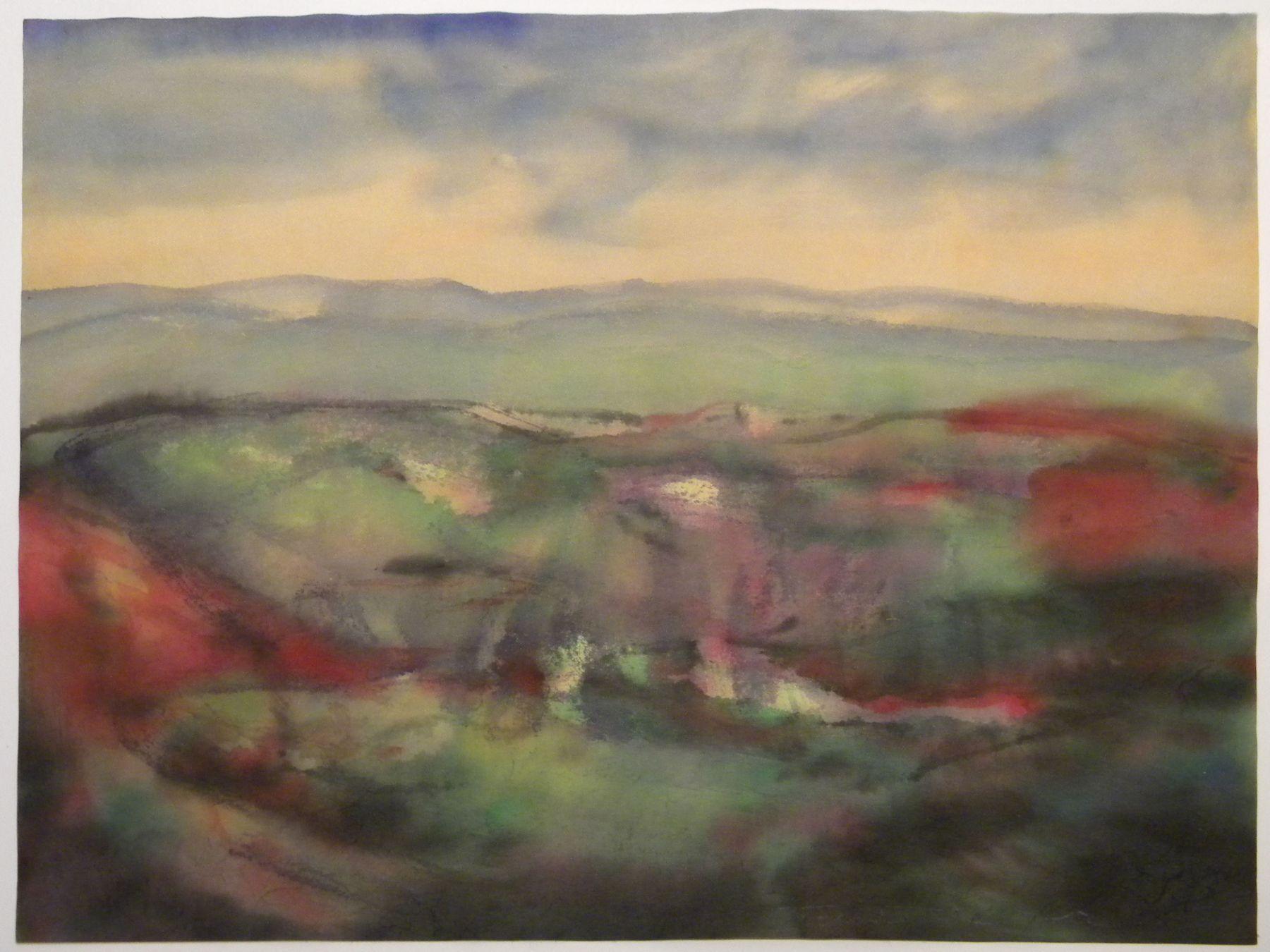 Fulvio Testa, Untitled 13, 2012    Watercolor on paper 13 3/8 x 15 7/8 inches
