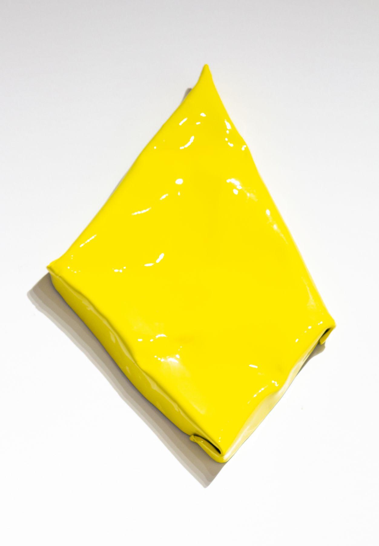 yellow painting on steel finish fetish