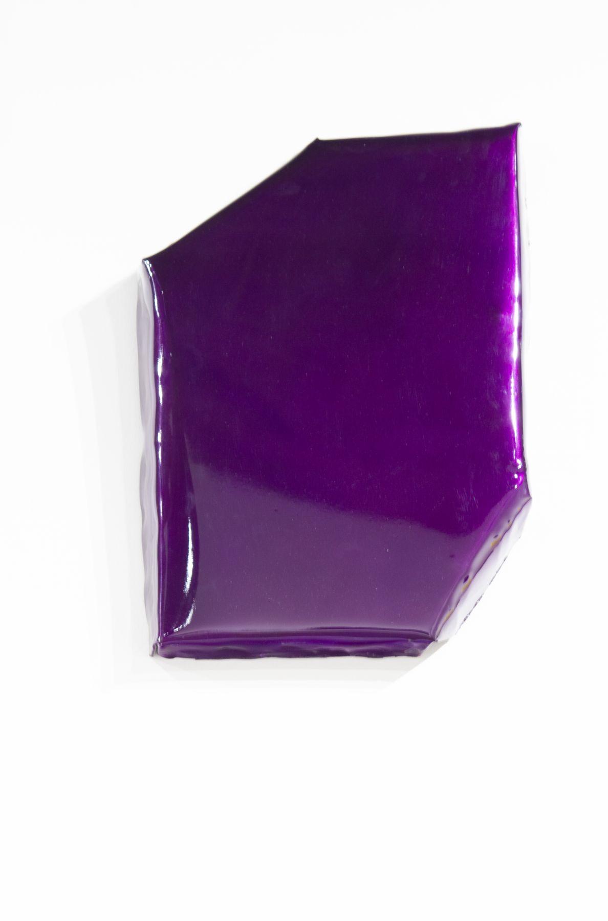 purple painting shiny on steel finish fetish shiny irregular