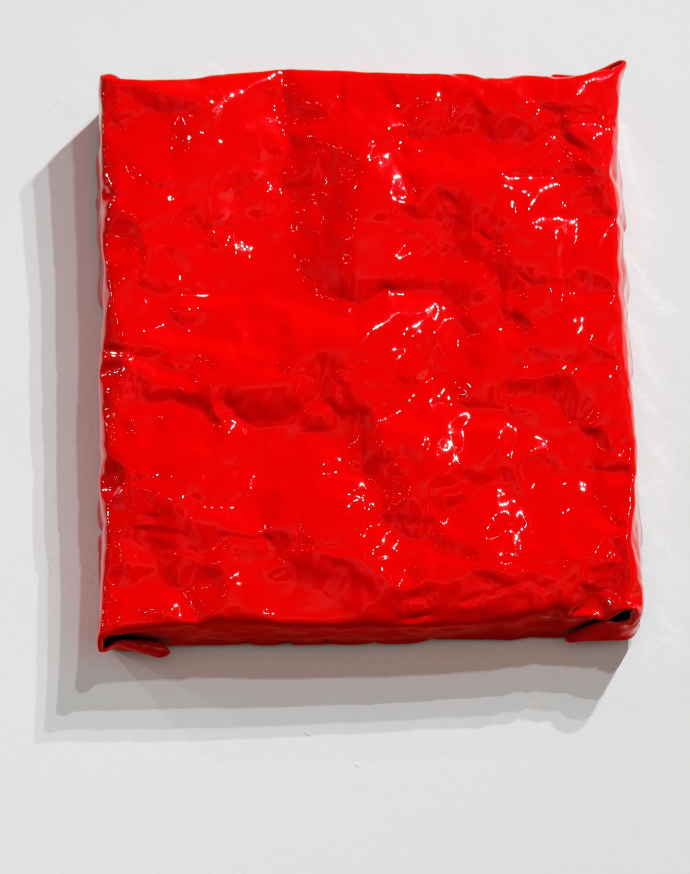 painting shiny wall sculpture minimalism