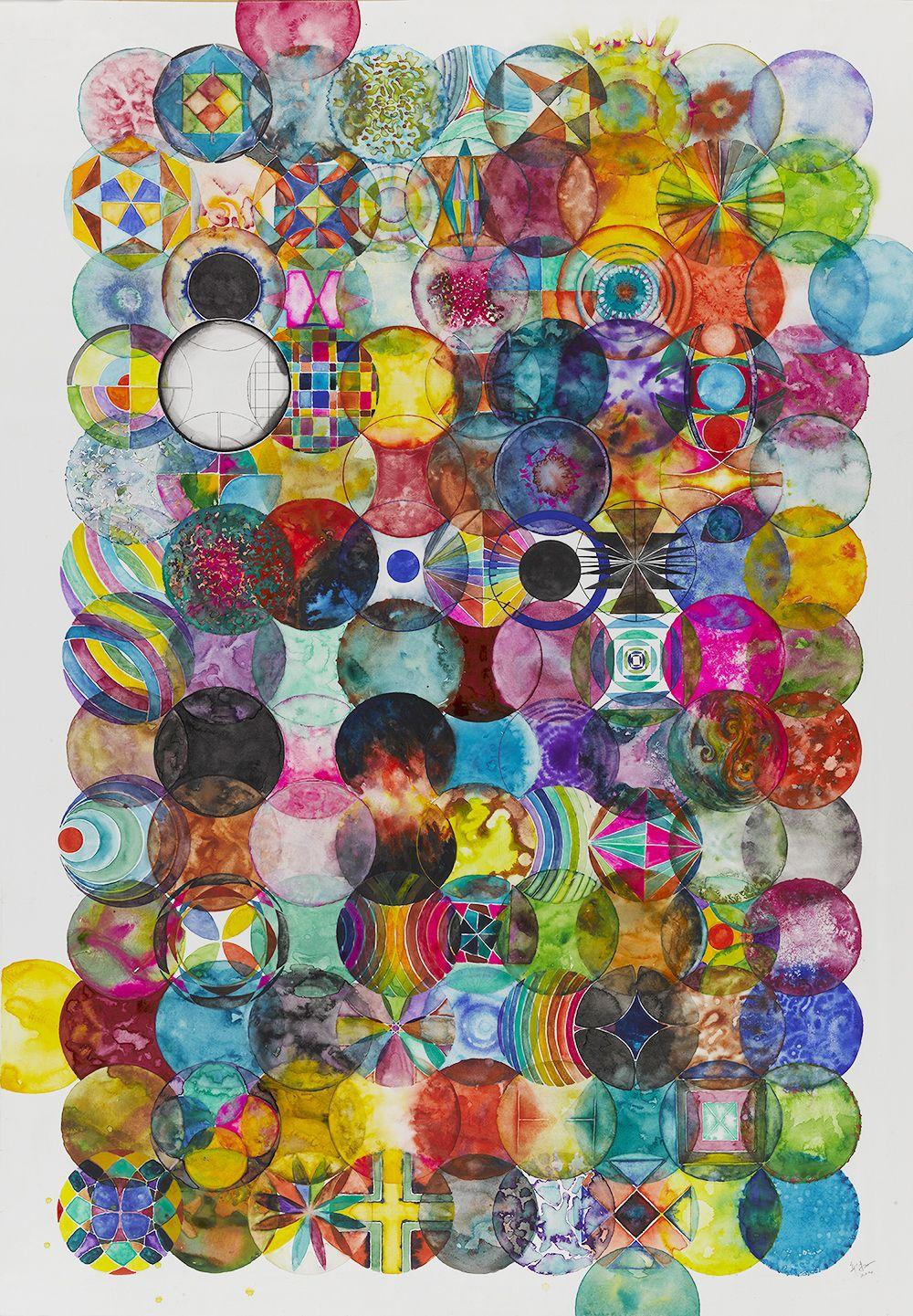 121 Color Balls121个彩色圆球