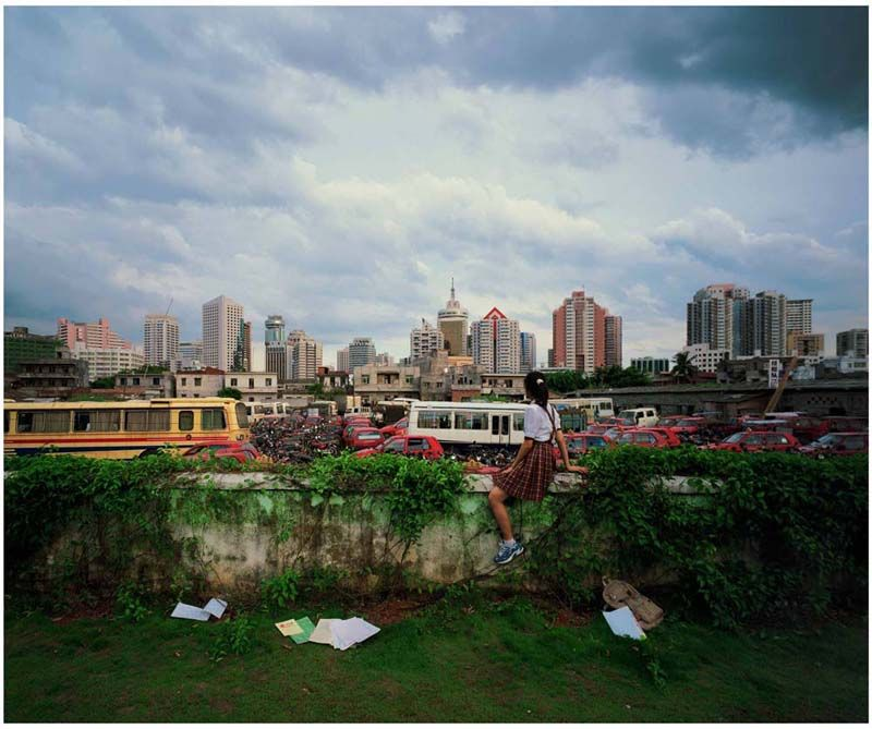 Weng Fen, On the Wall: Haikou 6