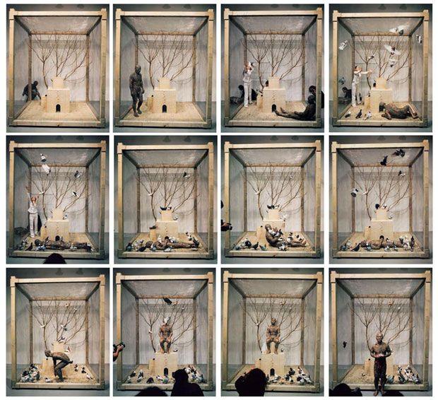 Zhang Huan å¼æ´¹ (b. 1965), Seeds of Hamburgæ±‰å¡ç§å, 2002