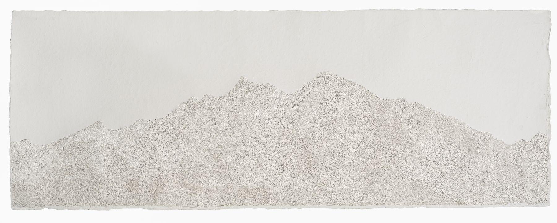 Fu Xiaotong 付小桐 (b. 1976), 518,600 Pinpricks-Sacred Mountain 518,600 孔-圣山