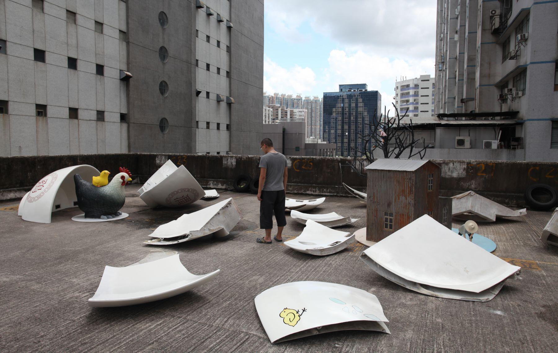 """Being disappeared -Disappeared Hong Kong Art (3)è¢«æ¶ˆå¤±ï¼æ¶ˆå¤±çš""""香港藝術 (三), 2003"""