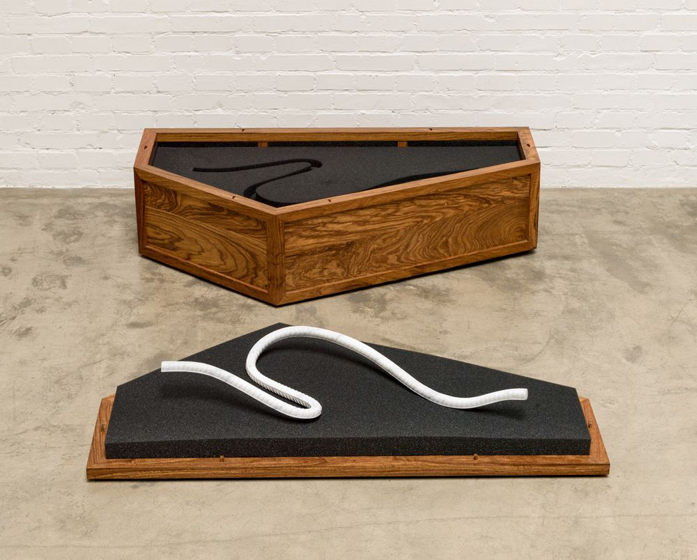 Rebar Casket and Marble Rebar - 4 大理石钢筋与盒子-4, 2014
