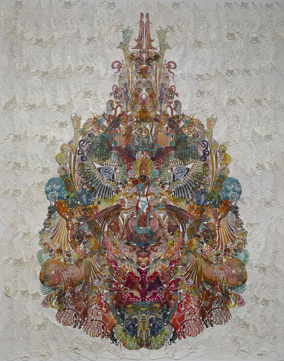 """Wu Jian'ané'¬å»ºå®‰(b. 1980), Faces-Orioleé»""""雀, 2014"""