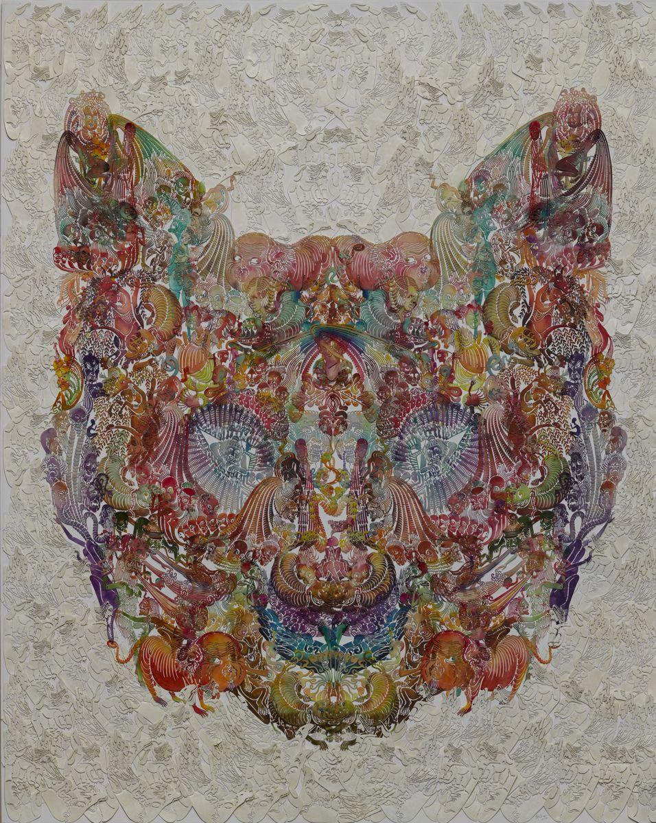 Wu Jian'ané'¬å»ºå®‰(b. 1980), Faces-Ca t猫, 2014