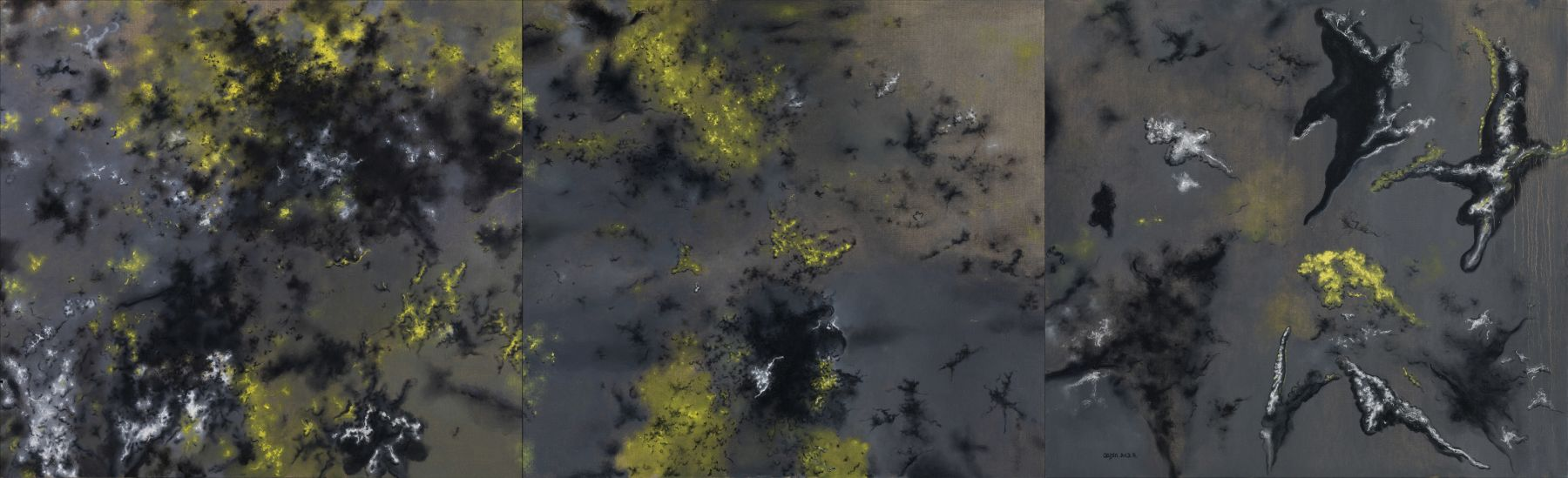 Cai Jin蔡锦(b.1965), Landscape No. 83,82,77风景83,82,77