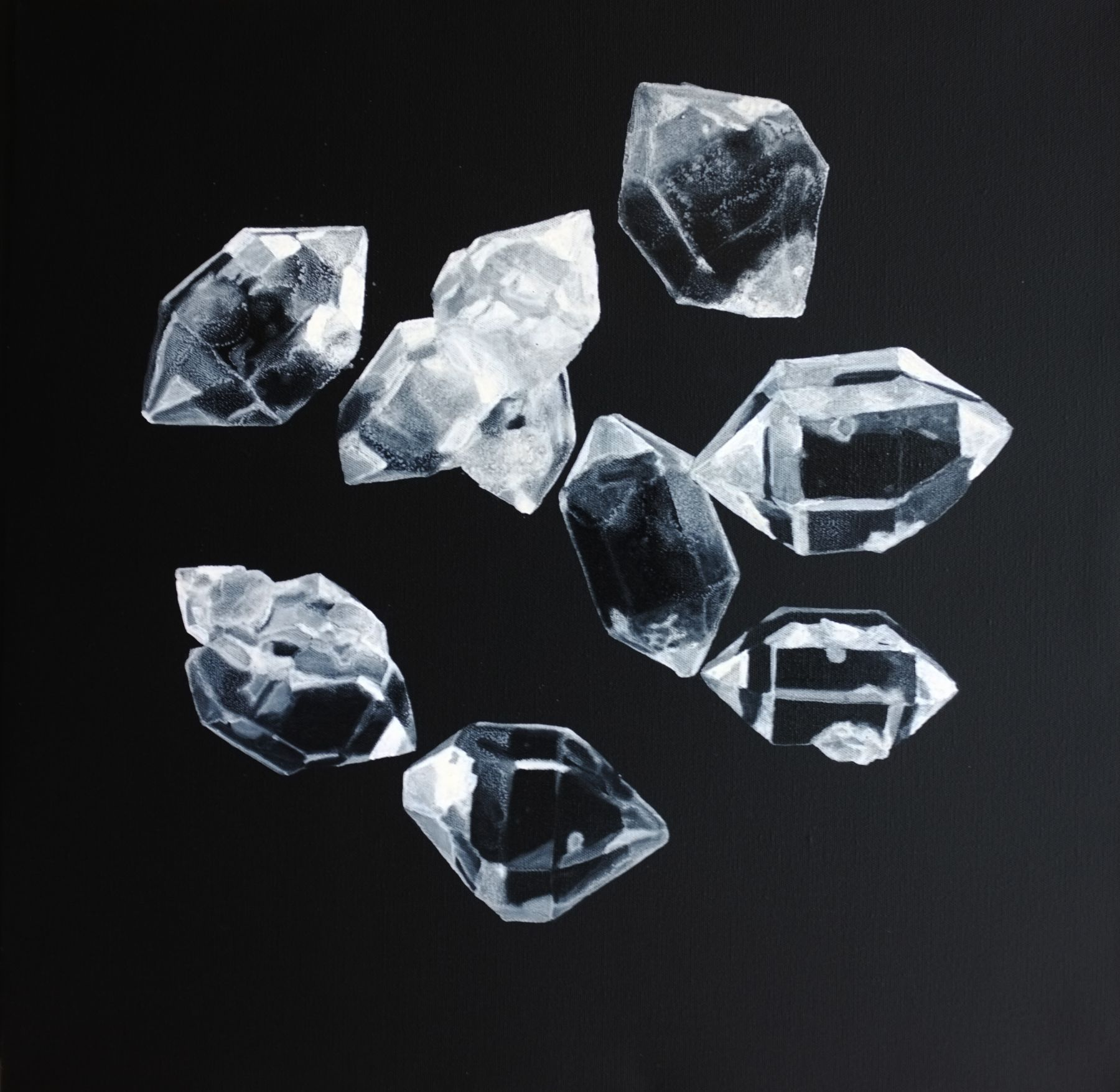 The Dark Side – Crystal No. 2 æš—面 – 水晶 2