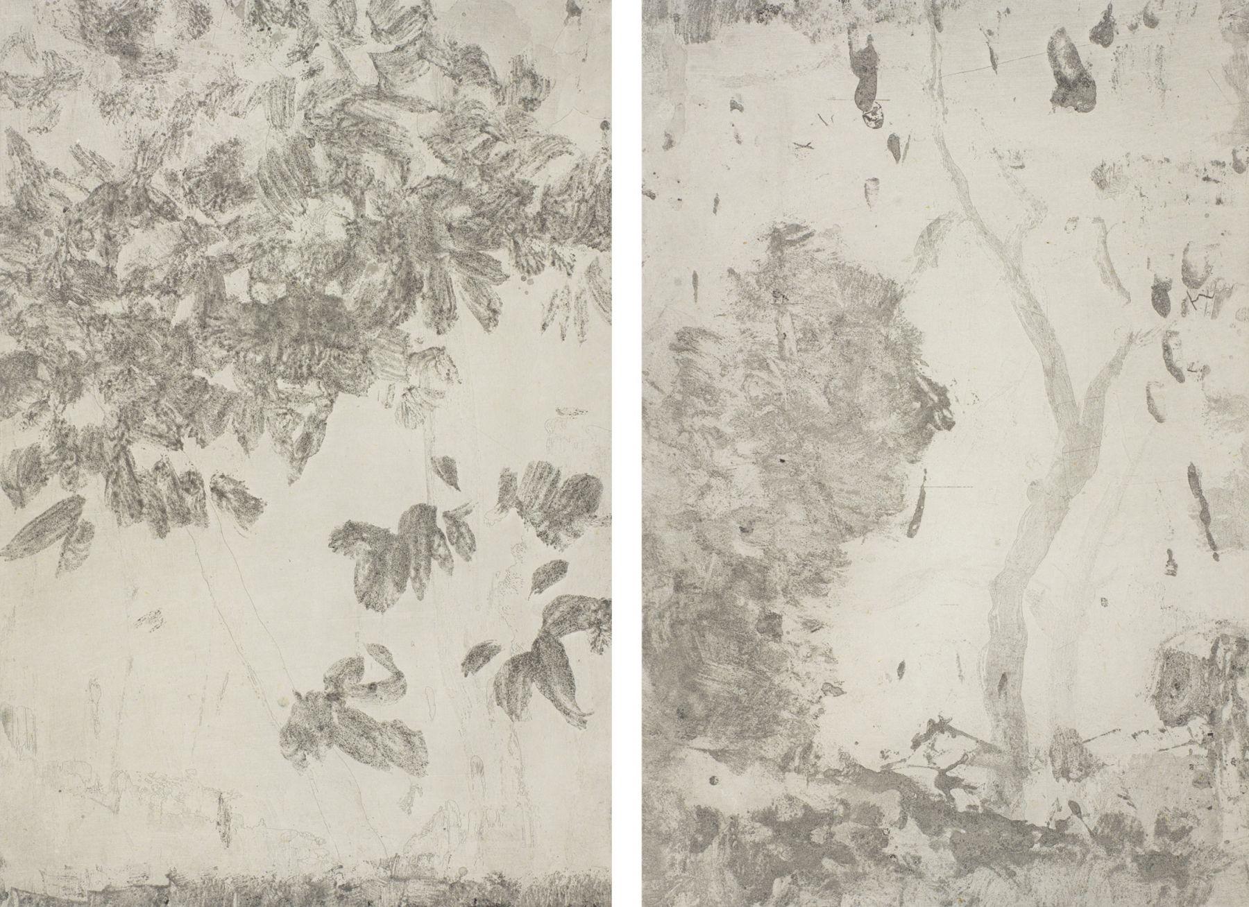 Yan Shanchun 严善錞 (b. 1957), West Lake-Feng Mu Wuè¥¿æ¹–•æž«æœ¨åž