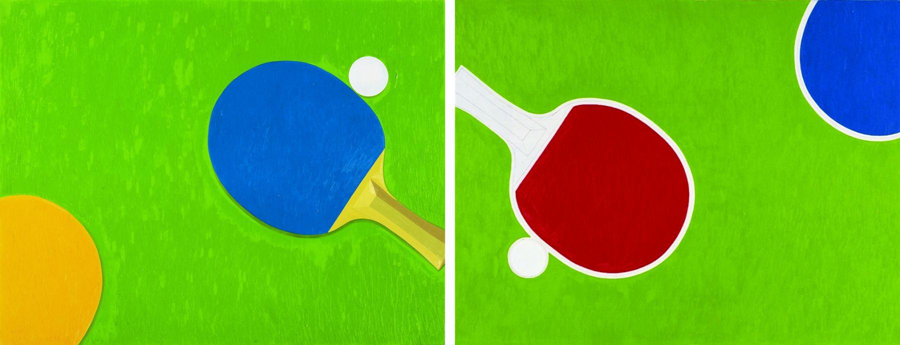 Ping Pong No. 9, 10 乒乓 No. 9, 10, 2011