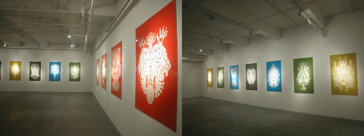 Daydreams, Installation view
