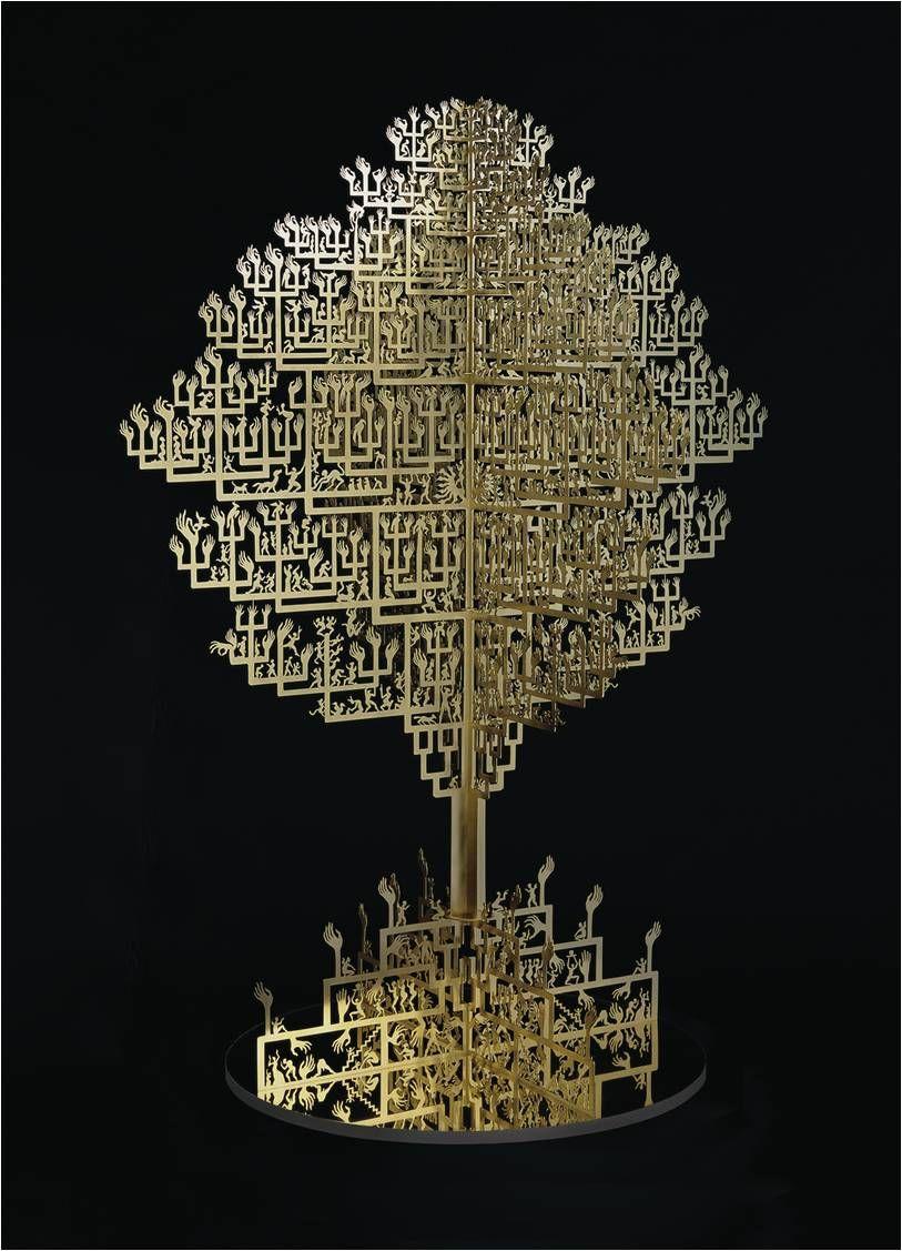 Wu Jian'ané'¬å»ºå®‰, Golden Treeæ¿€å…‰é•'刻