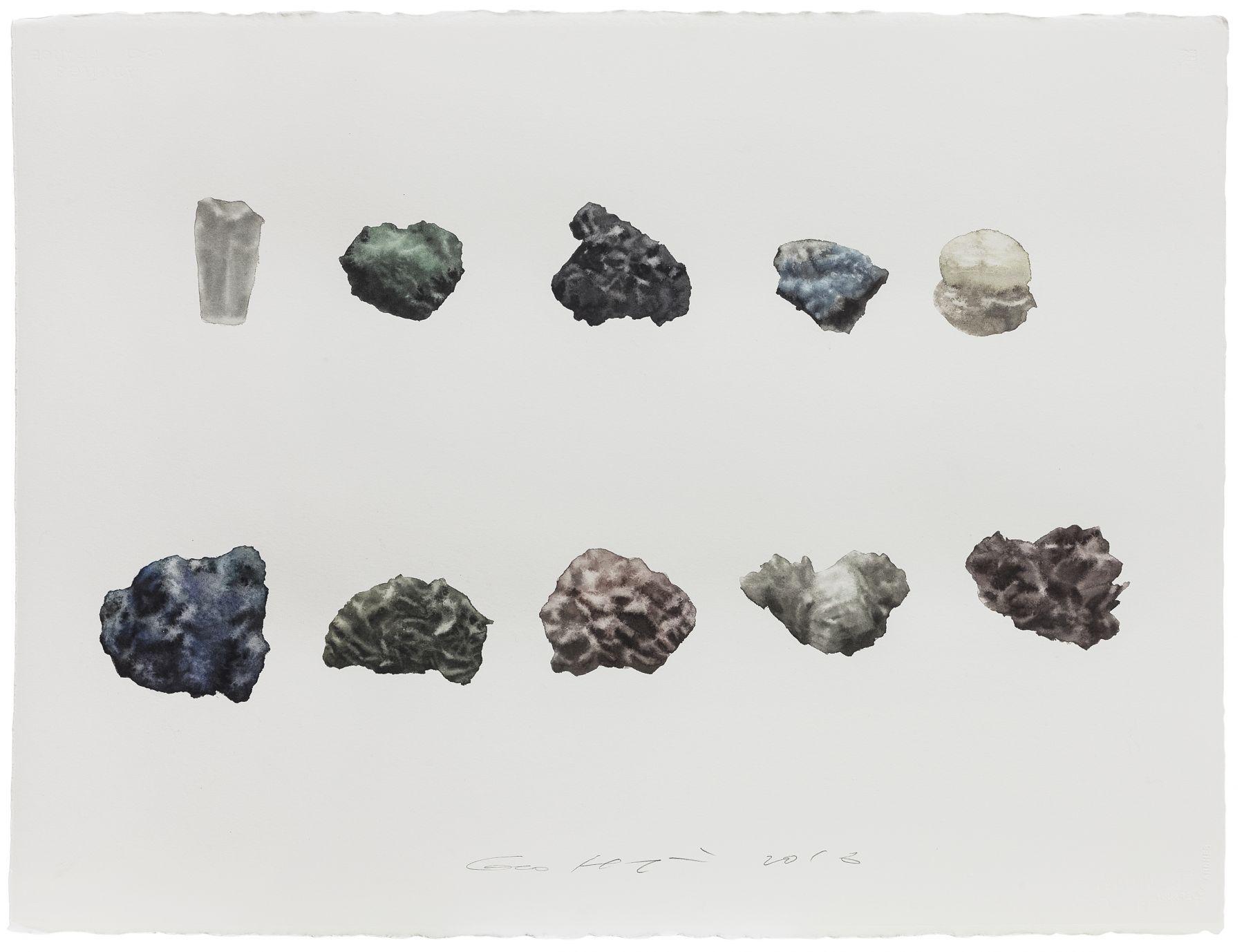 Stone No. 13 石 13, 2016