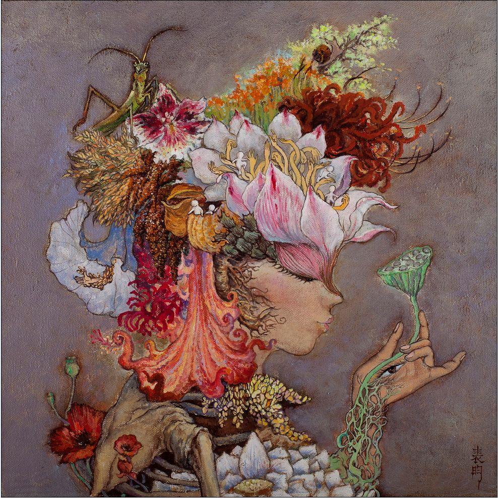 Tian Xiaolei田晓磊 (b. 1982), Ode to Joy – Blossomsæ¬¢ä¹é¢'-ç»½