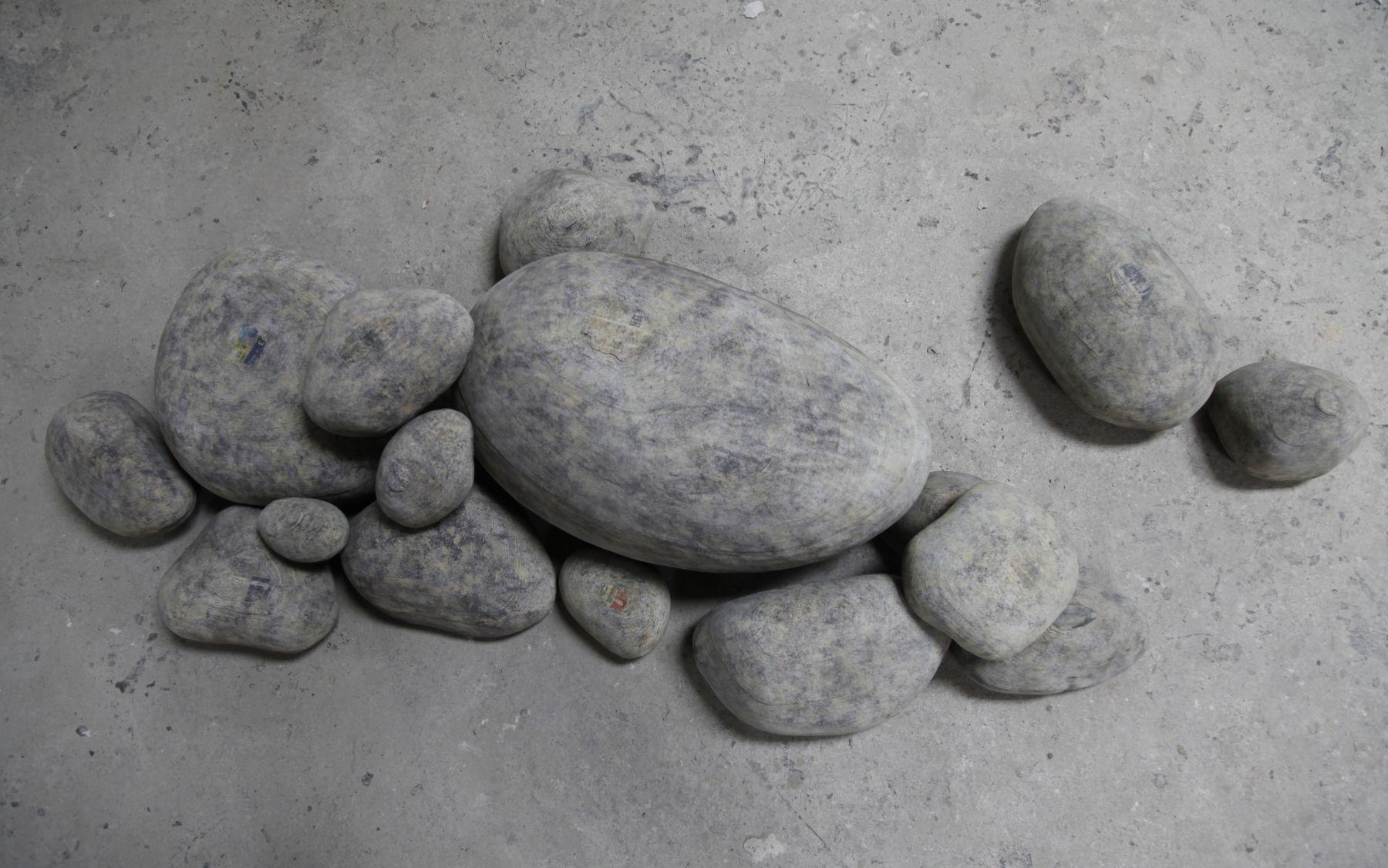 Li HongboæŽæ´ªæ³¢, Hard Stoneé¡½çŸ³