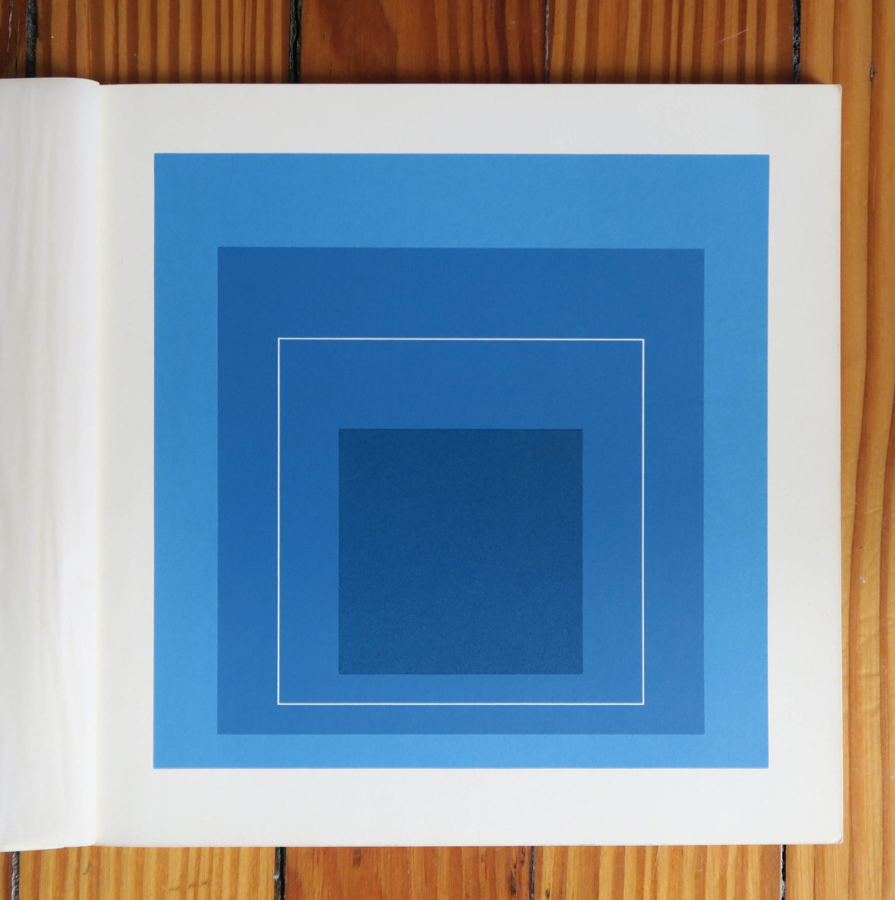 Alternate Projects, Josef Albers, White Line Squares