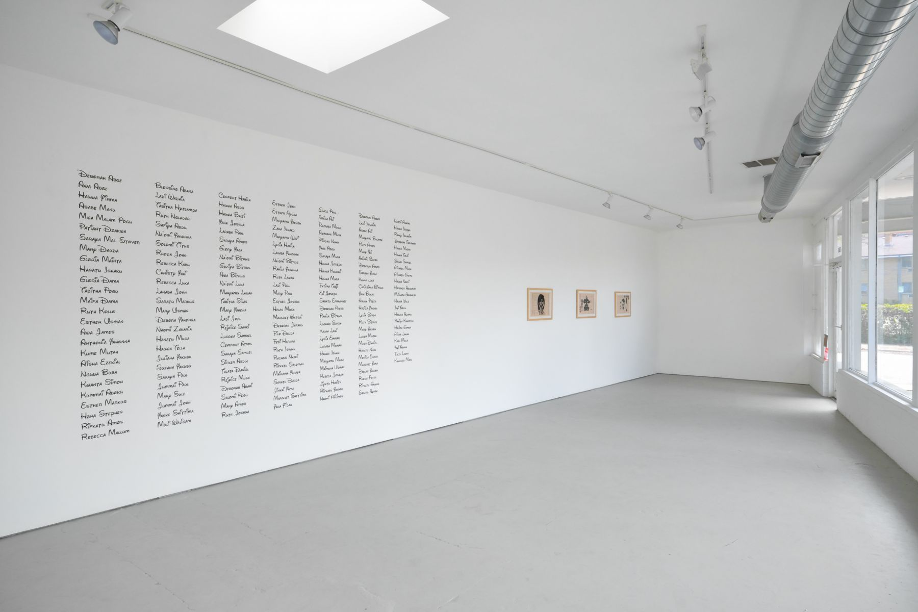 """Installation view """"Democrats, Republicans, Capitalists and Creeps"""" ... and You"""