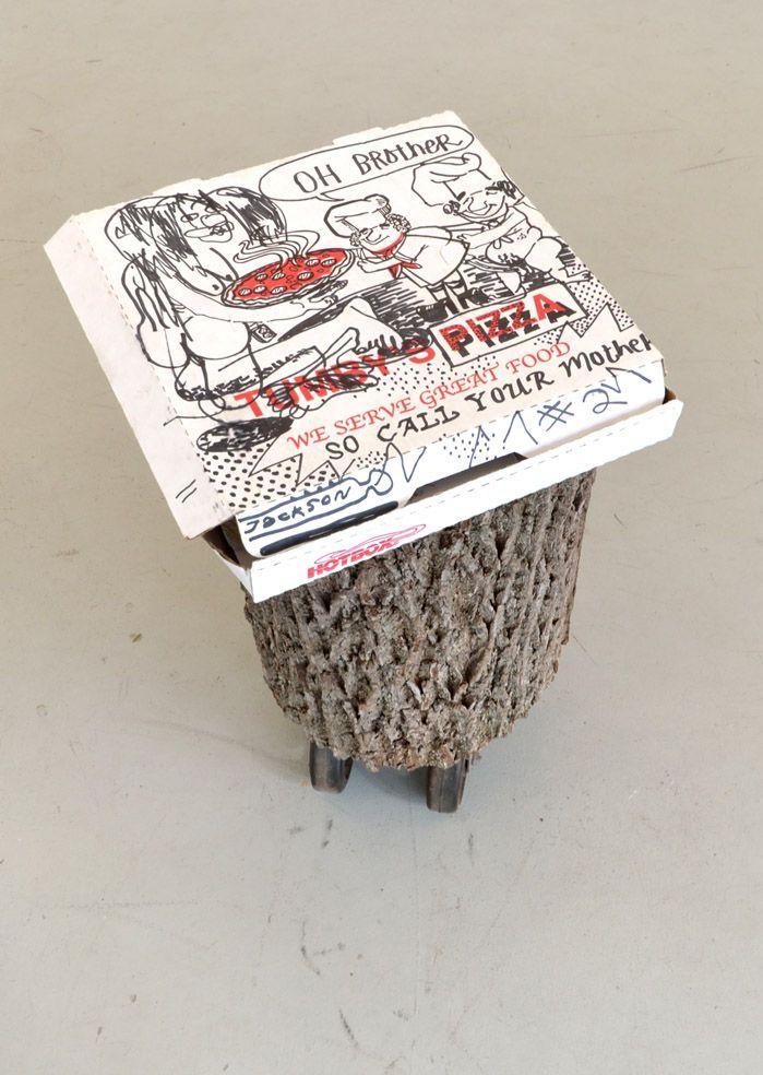 Pizza Box Drawings, 2016
