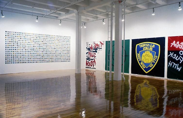 Installation view, 1993. Metro Pictures, New York.