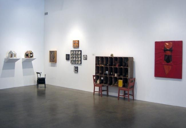 Swell: Art 1950 - 2010, 2010, installation view. Metro Pictures, New York