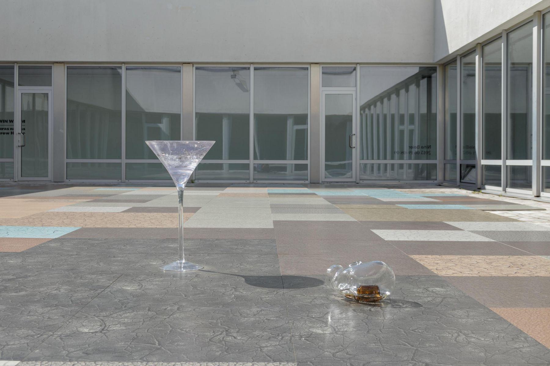 Nina Beier,Contemporary Art Centre Vilnius, Lithuania, 2015. Installation view.