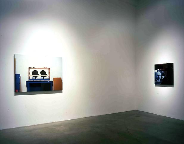"""""""Looking Forward,"""" installation view, 2004. Metro Pictures, New York."""